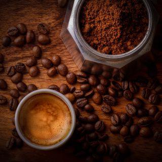 Biologische Koffie Gemalen Ethiopie