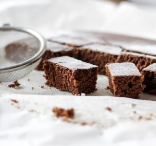 Vegan Glutenfree Homemade Brownie